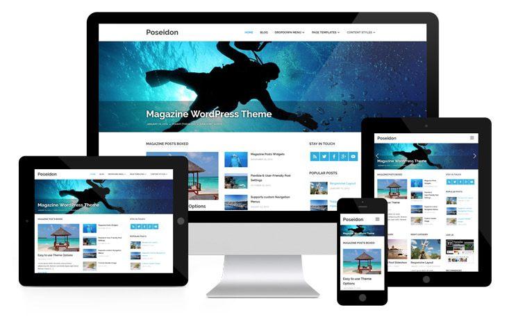 WordPress grafične predloge